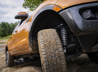 Ford offers off-road leveling suspension for its pickup trucks