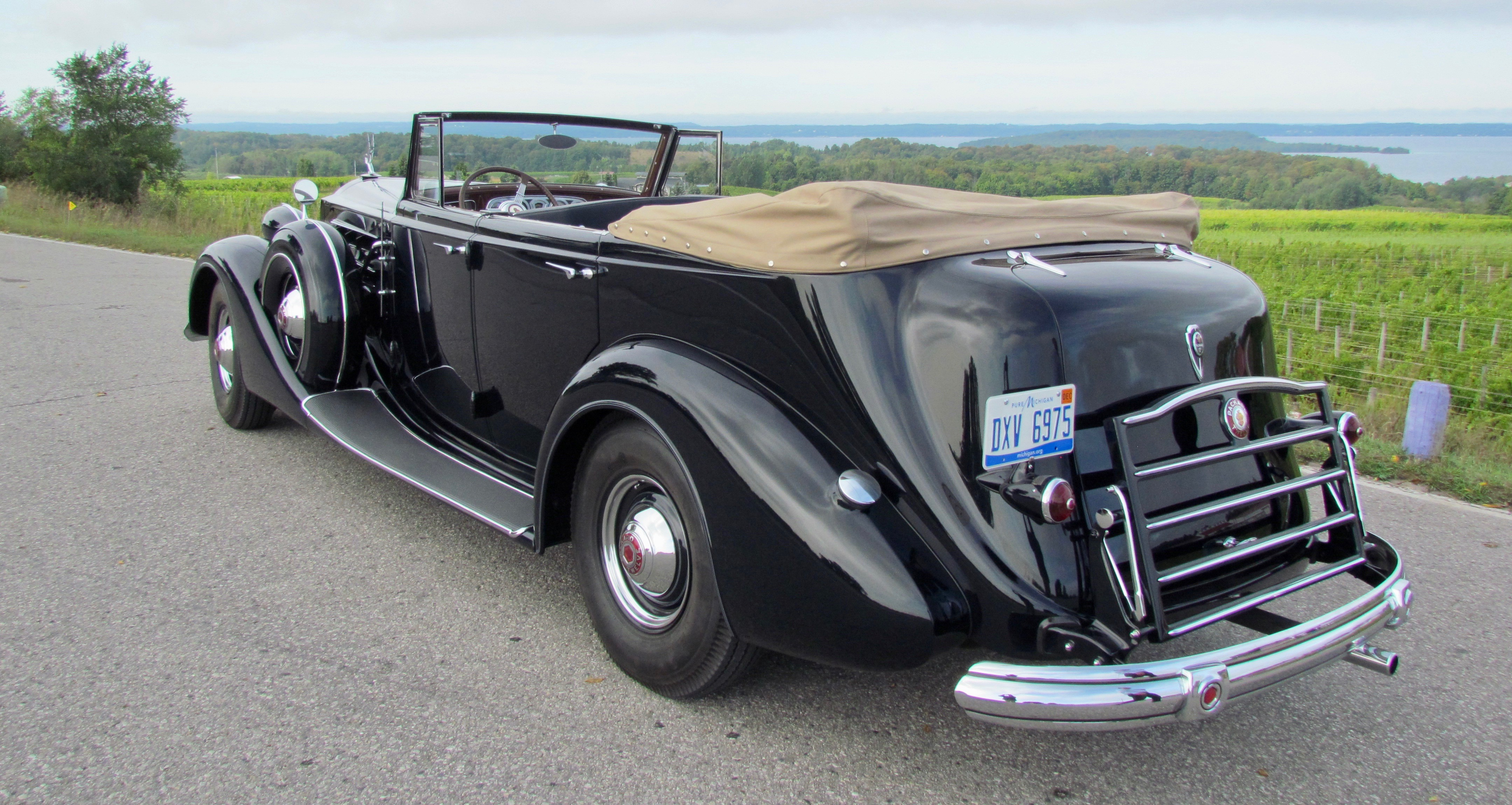 1937 Packard, Is driving a 1937 Packard really like warm bagels on a cream cheese road?, ClassicCars.com Journal