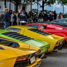Second Lamborghini concorso salutes architect Gae Aulenti
