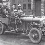 Bentley in wartime fire engine role for Chichester Fire Brigade