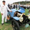 Pebble Beach encounter: An ancient Bugatti with its very special owner