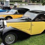 Bugattis on display at Greenwich Concours – Gregg D. Merksamer