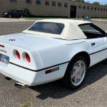 C4 Corvette pick rear