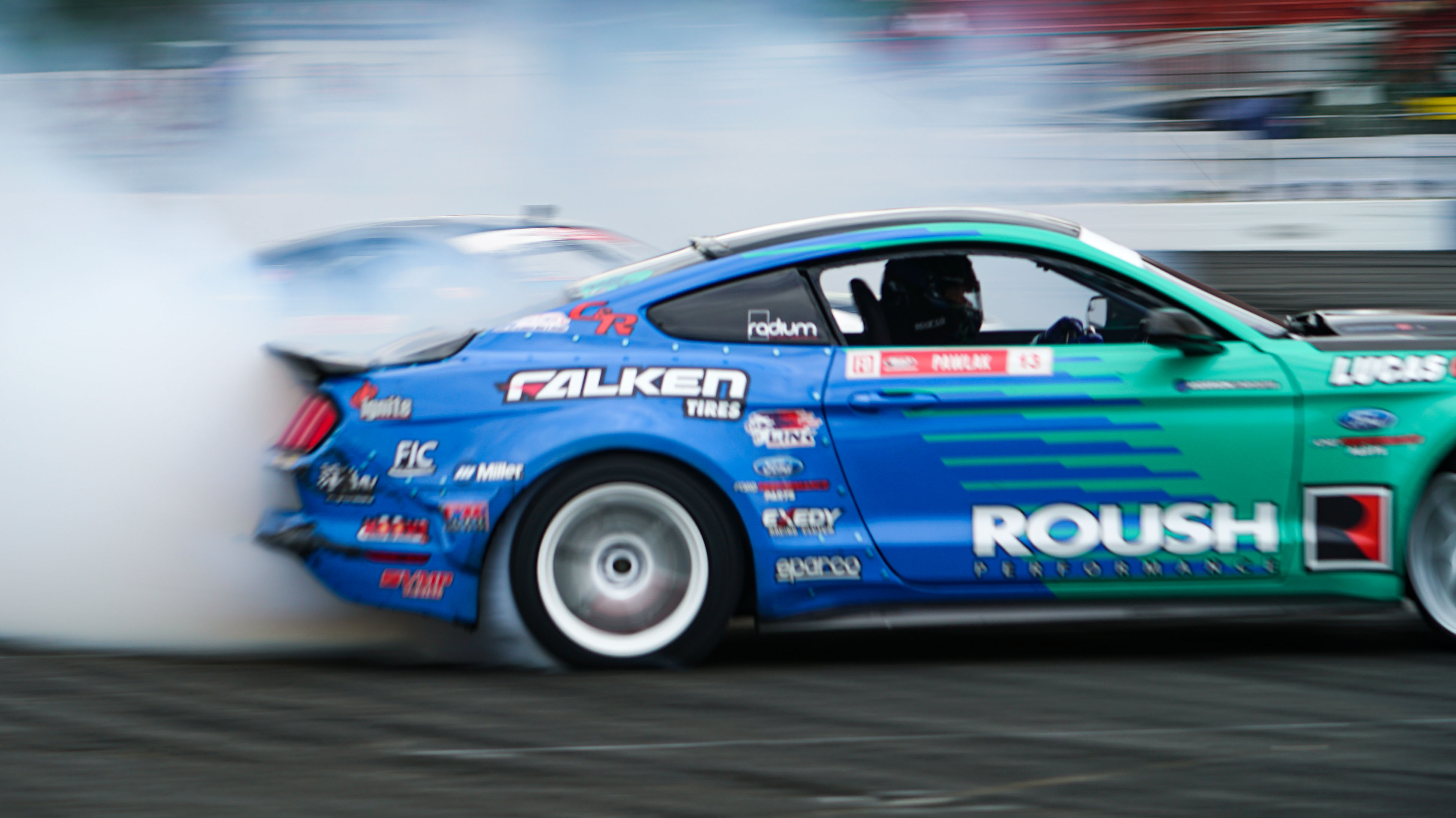 Formula Drift competition cars come in a variety of styles and forms   Rebecca Nguyen photos