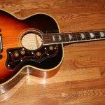 LN19_1949 Gibson SJ 200 Sunburst Acoustic Guitar_S15