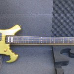 LN19_1990 Gold Warwick Buzzard Customized Bass_S118