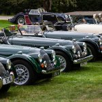 Morgan Sports Car Club display