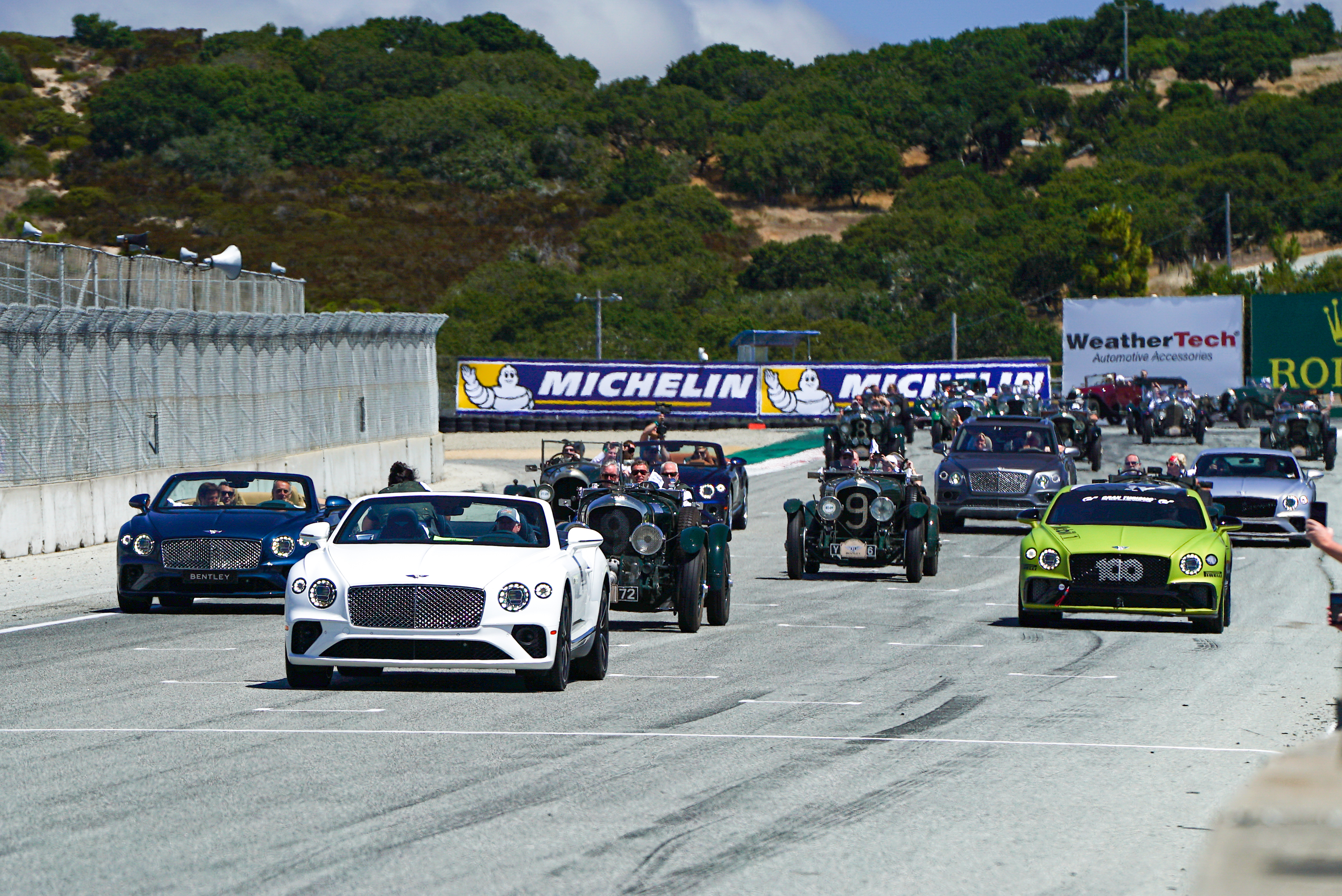 Laguna Seca Bentley