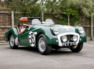 Ex-works Triumph TR2 raced at Le Mans, was owned by Jordanian king