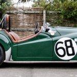 The ex-Works 1955 Le Mans 24-hours Triumph TR2 (c)