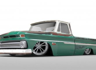 United Pacific to display '66 C10 pickup with diesel crate engine