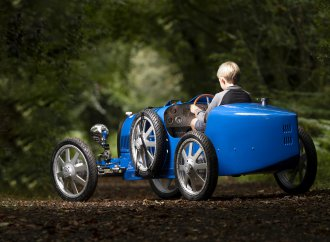 Bugatti reveals Baby II in prototype form