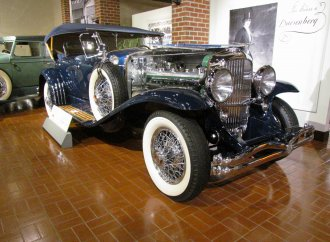 Gilmore's Duesenberg display ends with September