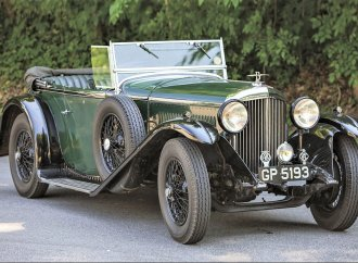 A rare vintage Bentley that has defied the ravages of time wins a coveted award