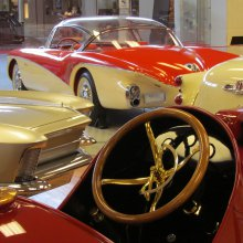 Flint's automotive history on display — in a shopping mall