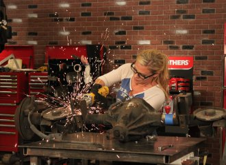 Off camera with Cristy Lee, and why she's restoring a 1967 Pontiac Grand Prix
