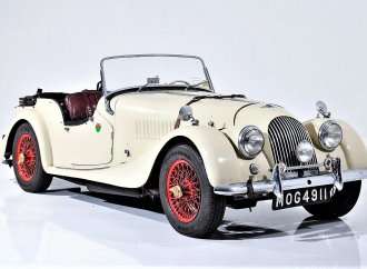 Most classically British, 1961 Morgan Plus 4 with 1-family ownership