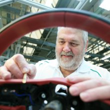 Stitching his name into Bentley history