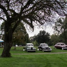 Pastor misses church, and nearly the Orphan Car Show as well