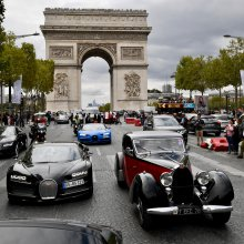 Bugatti supercar owners do the Grand Tour