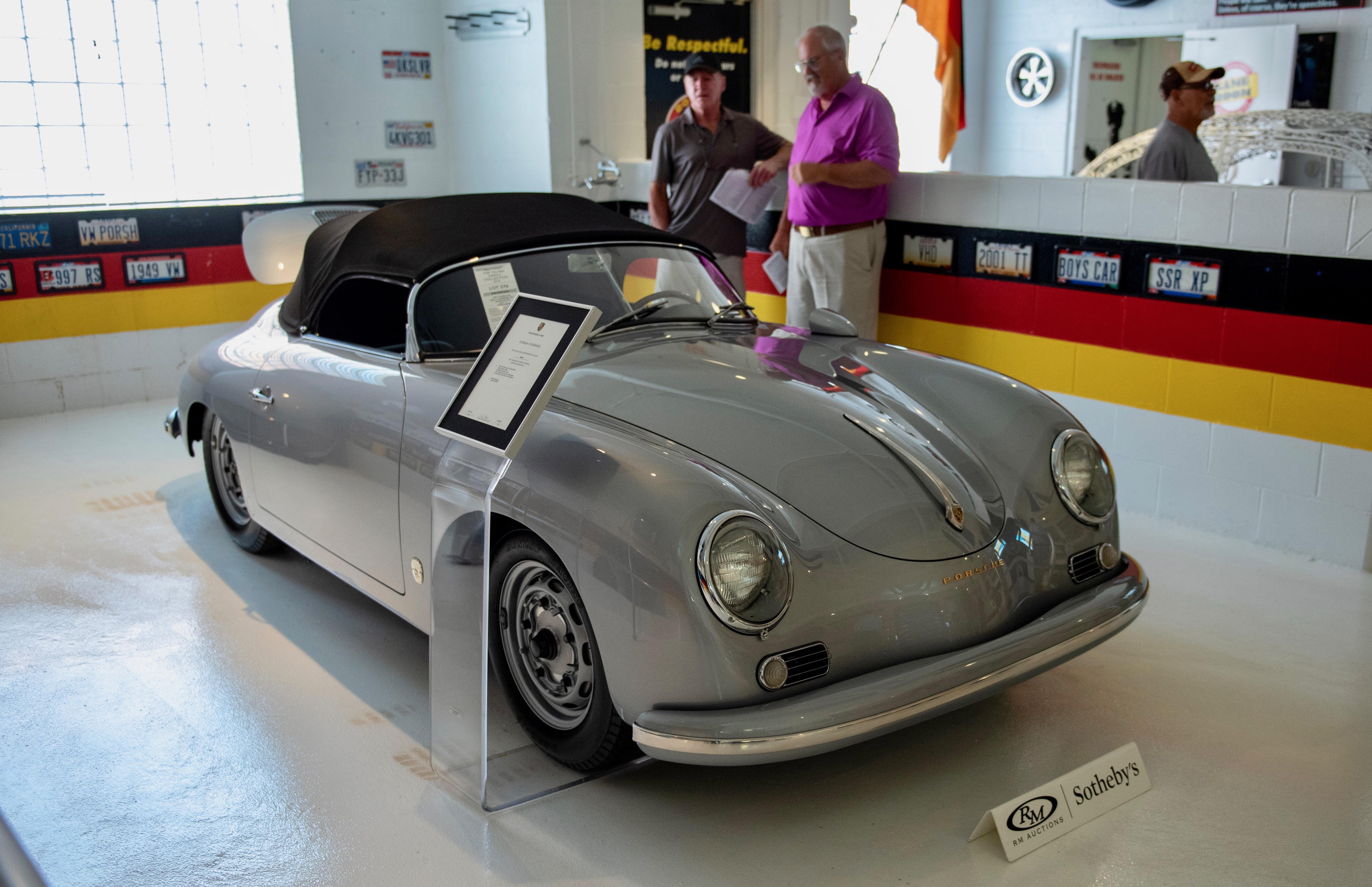 Taj Ma Garaj, Taj Ma Garaj auction generates $5.7 million, ClassicCars.com Journal