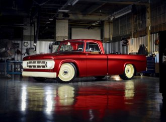 Dodge turns 1968 D200 into 'lowliner' concept for SEMA Show unveiling