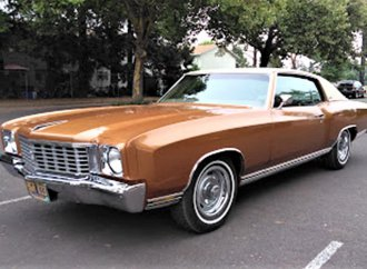 Personal-luxury '72 Chevrolet Monte Carlo