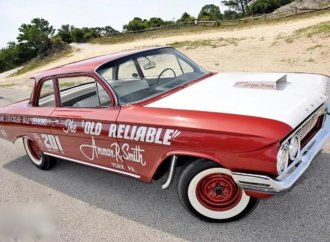 '61 Chevy is tribute to legacy of Bill 'Grumpy' Jenkins