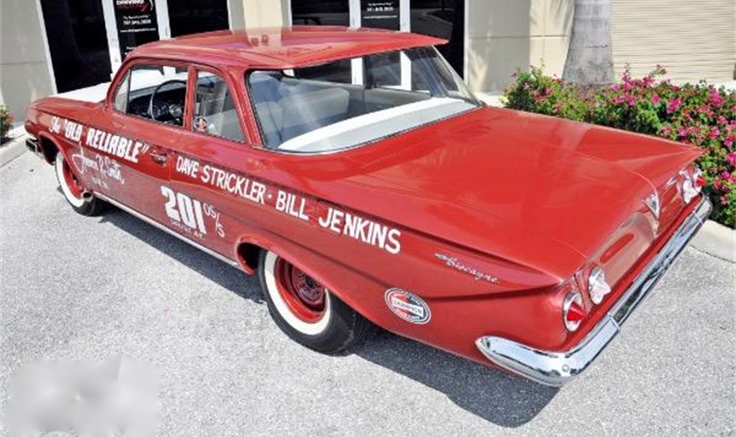 1961 Chevrolet Biscayne, '61 Chevy is tribute to legacy of Bill 'Grumpy' Jenkins, ClassicCars.com Journal