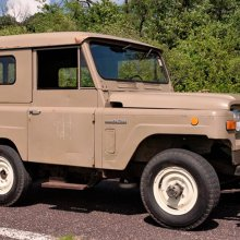 Movieland survivor, rare 1969 Nissan Patrol appeared in popular films