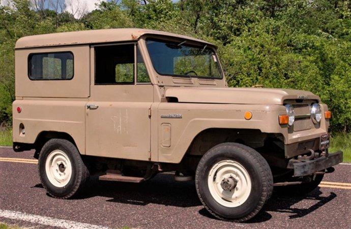 Movieland survivor, rare 1969 Nissan Patrol appeared in popular films