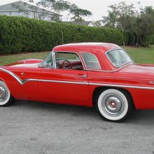 Mystery solved: Pick of the Day '55 T'bird was special edition