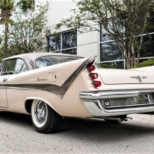 Towering tailfins: 1959 DeSoto Firedome coupe was a standout design