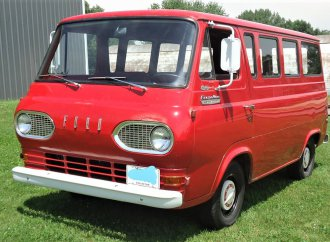 Unusual survivor 1966 Ford Econoline window van in original condition