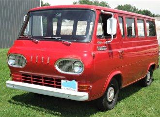 Unusual survivor 1966 Ford Econoline window van in original condition