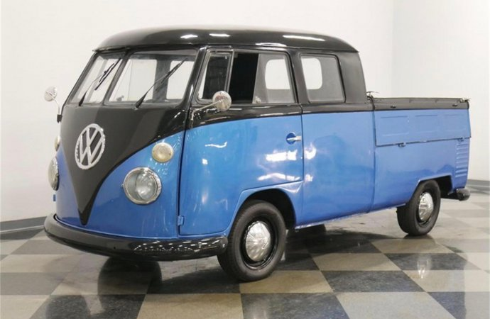 Crew cab pickups are popular, but VW did them decades ago