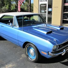 Life in the fast lane: 1970 Dodge Dart Swinger with performance tweaks