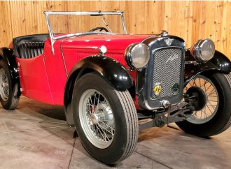 Tiny British roadster seldom seen: 1935 Austin Nippy in rare left-hand drive