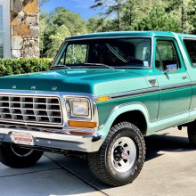 Museum-kept 1978 Ford Bronco Ranger