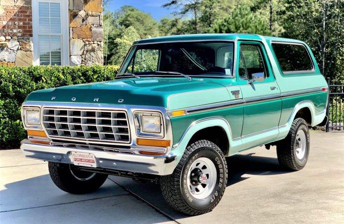 Museum-kept 1978 Ford Bronco Ranger
