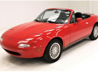 Low-mileage 1990 Mazda Miata offers real sports car experience