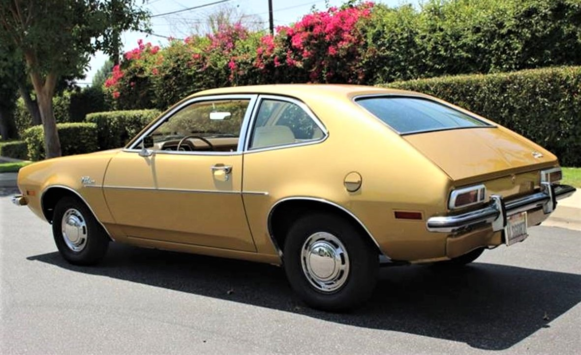 Inexplicably restored 1970 Ford Pinto sedan for sale