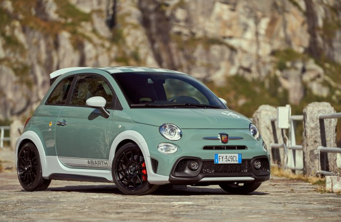 Abarth unveils 70th anniversary special edition