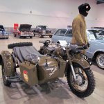 1963 Russian military motorcycle with sidecar
