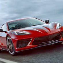 First C8 Corvette will be auctioned at Barrett-Jackson