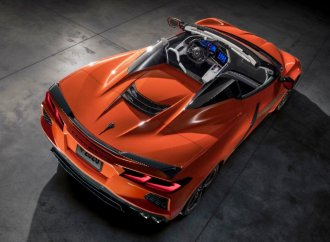 Chevrolet unveils C8 Corvette convertible with retracting hardtop roof