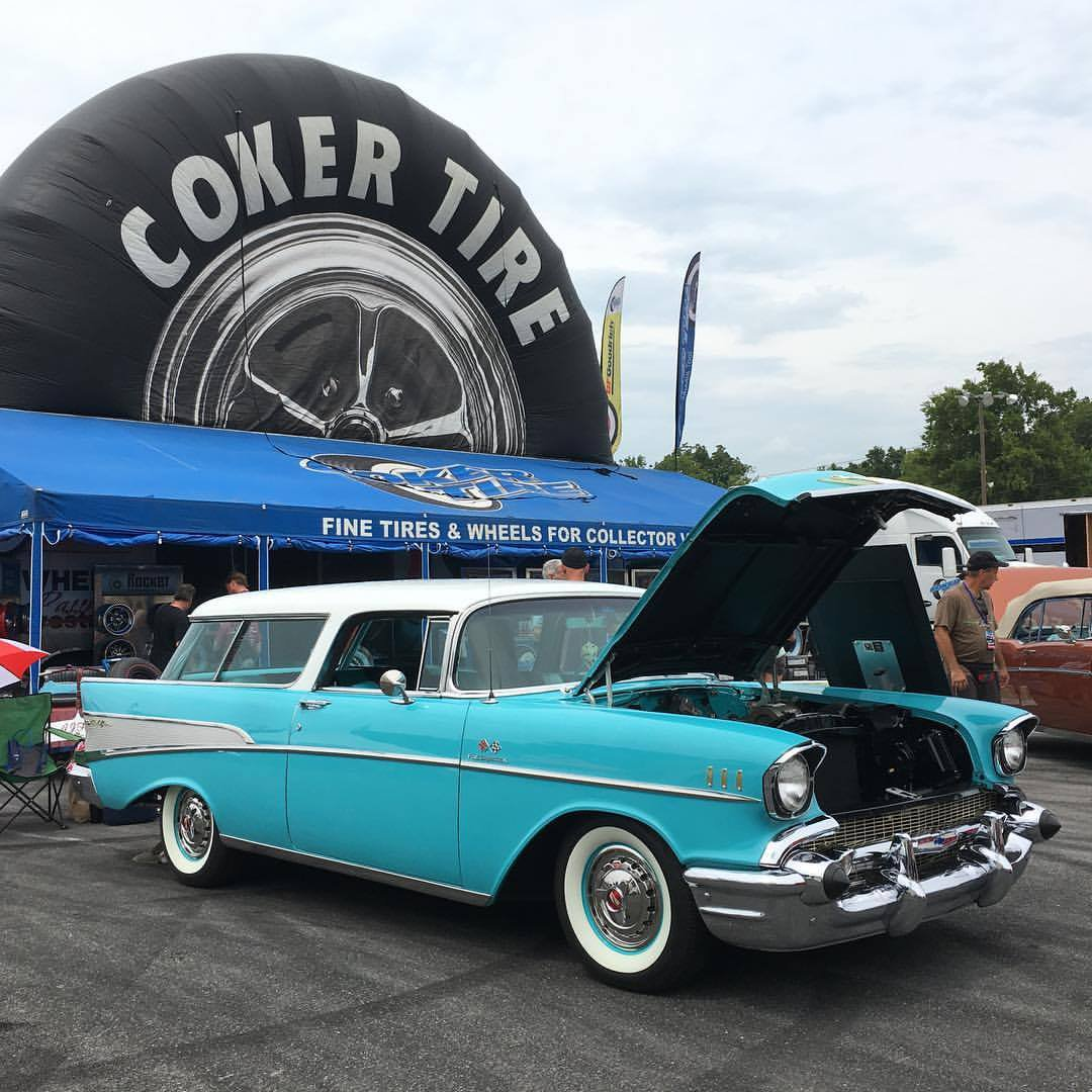 Coker tire displays the right tire on the right car