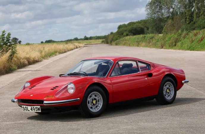 Family owned cars among stars at H&H Classics auction