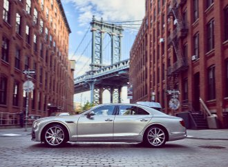 Bentley centennial continues with parades, concours in NYC