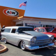 A(wesome) & W(onderful) vehicles gather for centennial car show